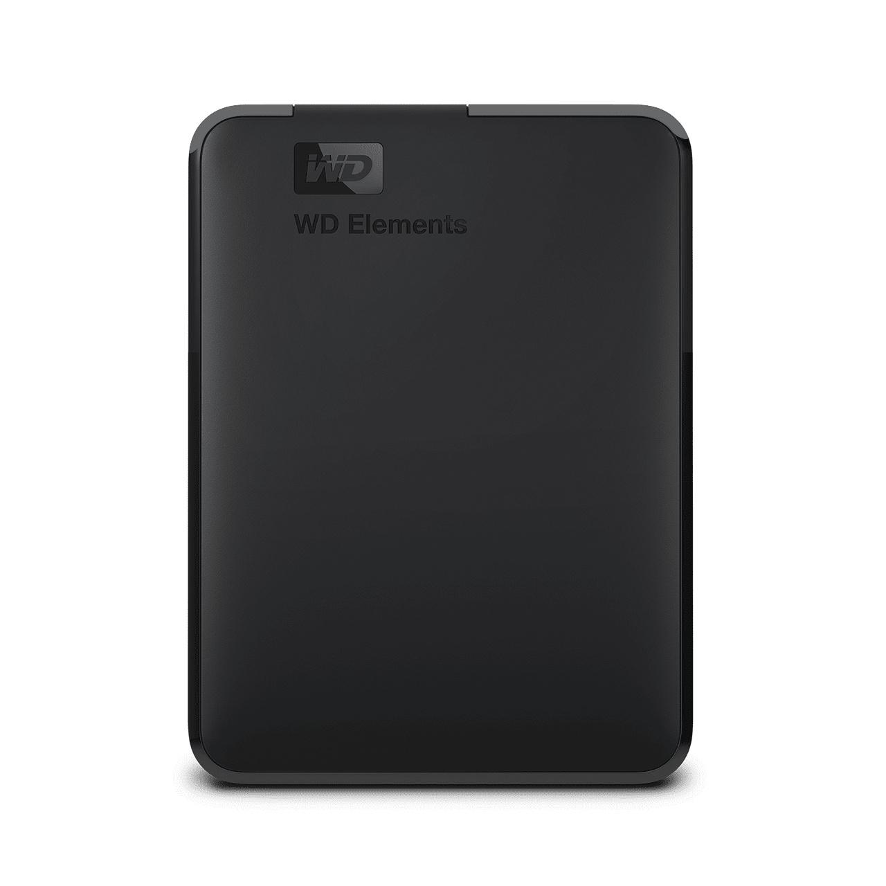 WD 엘리먼트 포터블 모바일 드라이브 USB 3.0 외장하드 2.5인치, Black, 2TB
