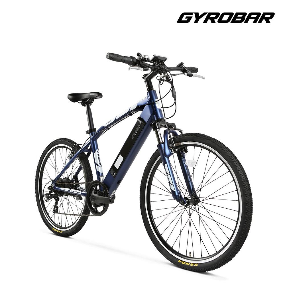 알톤 전기자전거 자이러트론 M100 MTB자전거 삼성배터리 26인치, M100_블루