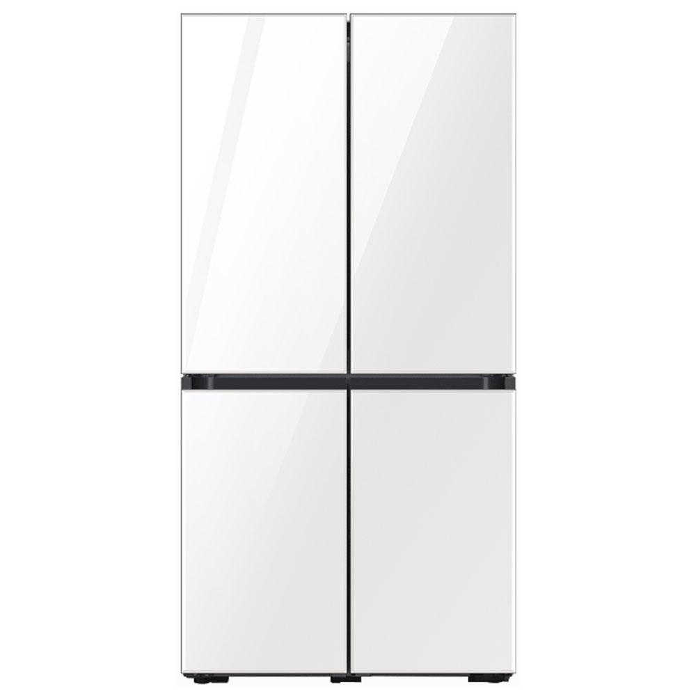 삼성전자 비스포크 키친핏 냉장고 RF61T91R235 (RF61T91R2AP) 글램 화이트, 단일모델