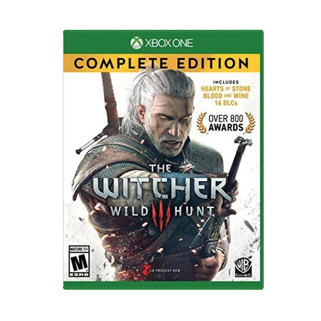 XBOX One Witcher 3 Wild Hunt Complete Edition [해외배송14일], Witcher 3: Wild Hunt Complete Edition - Xbox One