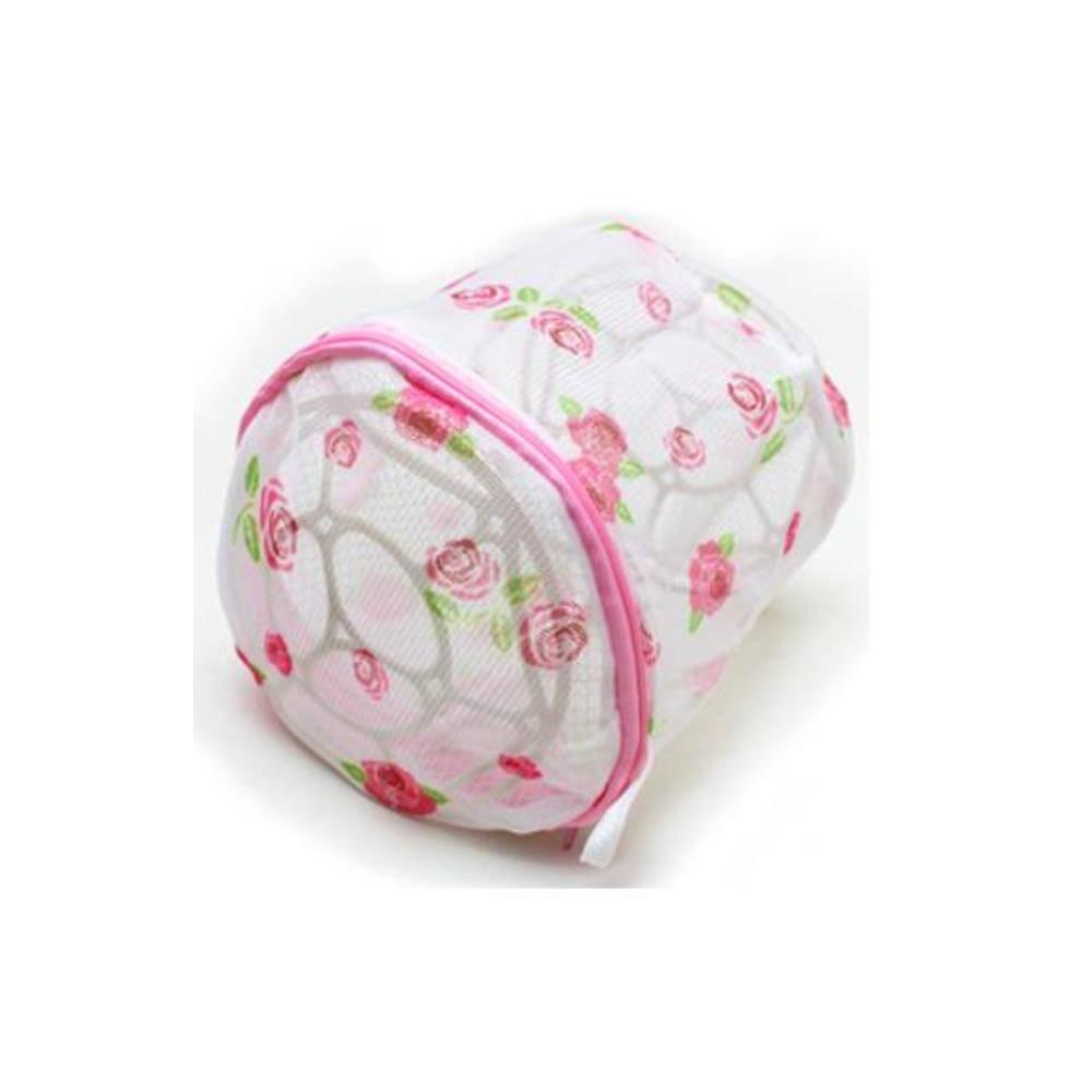 브레지어 세탁망 꽃문양 1개 세탁기용품 빨래세탁망 모자세탁망 속옷망 운동화세탁망, 단일상품