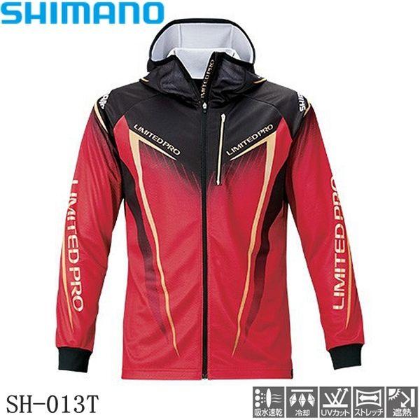 SHIMANO 시마노 여름 얼음 실크 낚시 의류 자외선 차단 속건성 땀 통기성 낚시복, 20 모델 레드-5-5112997567
