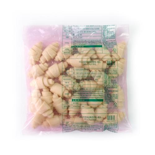 푸드젠마켓 삼립 미니 크로와상 냉동생지(드라이1개), 1봉/30개입