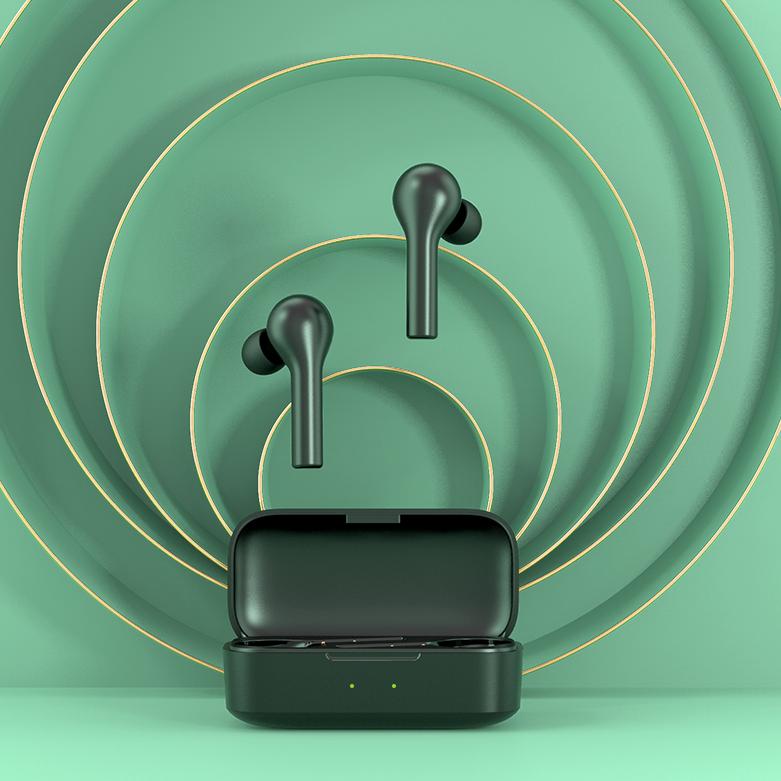 QCY T5 Pro 인이어 가성비 무선 블루투스 이어폰, 블랙
