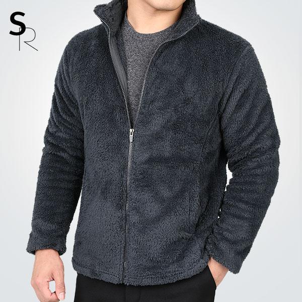 스타일랑 히트터치 남성 포근따뜻 부드러운 후리스 장모플리스 자켓(Z0SY3JK006M)