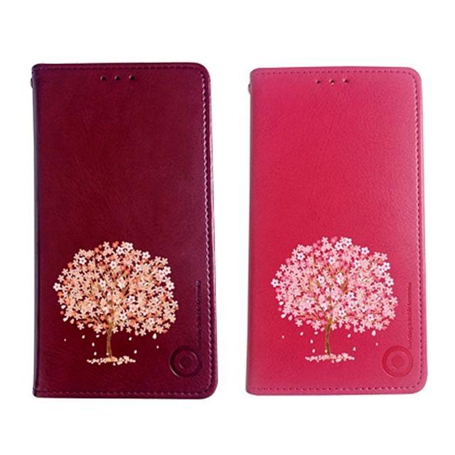 러블나 Flip 레더 Galaxy Case 택1 오렌지 러블리나무플립 퍼플 핑크 + 20705걸잿