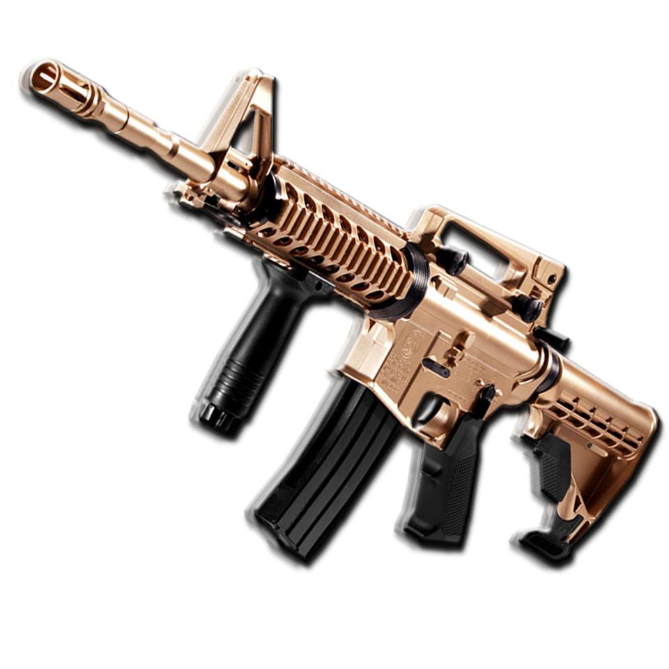 토이플레이 아카데미과학 50주년 골드 비비탄총 장난감총, m4a1-골드