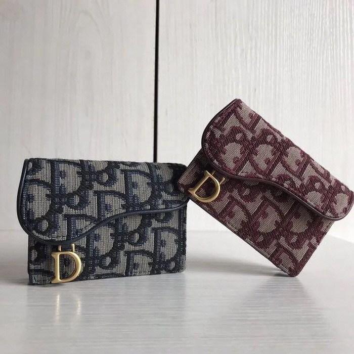 [Dior] 디올 오블리크 카드홀더 S5611CTZQ_M928 여성카드/명함지갑