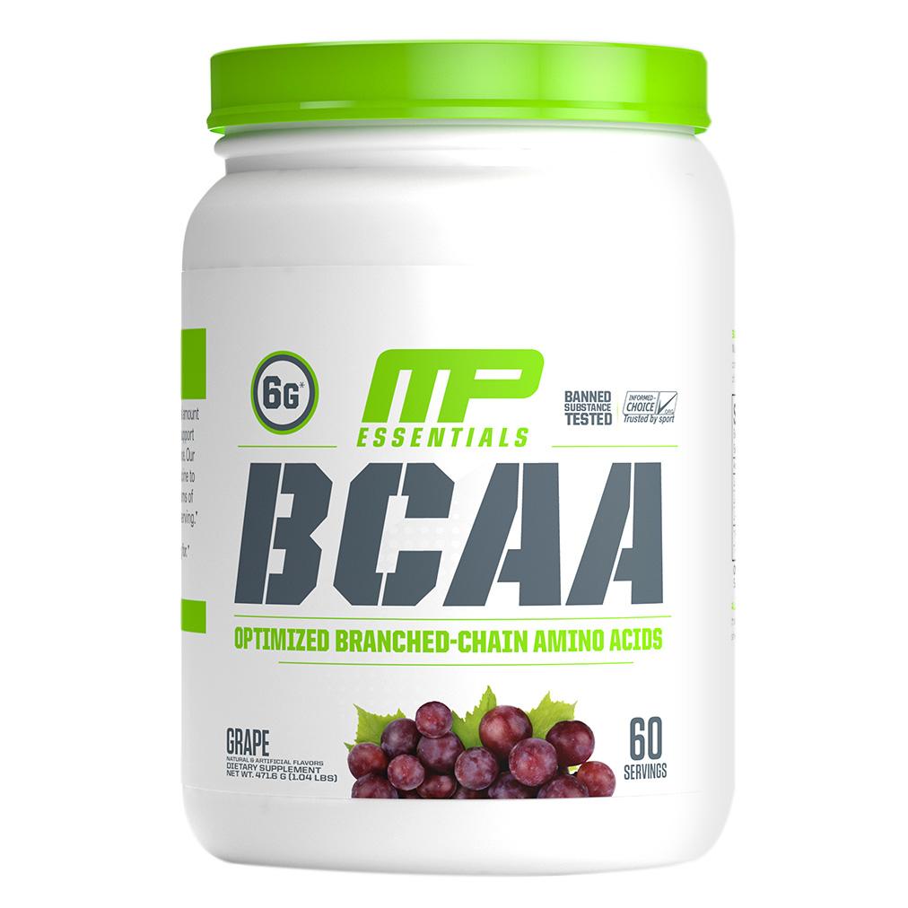 Musclepharm 에센셜 BCAA, 60회, 그레이프(Grape)