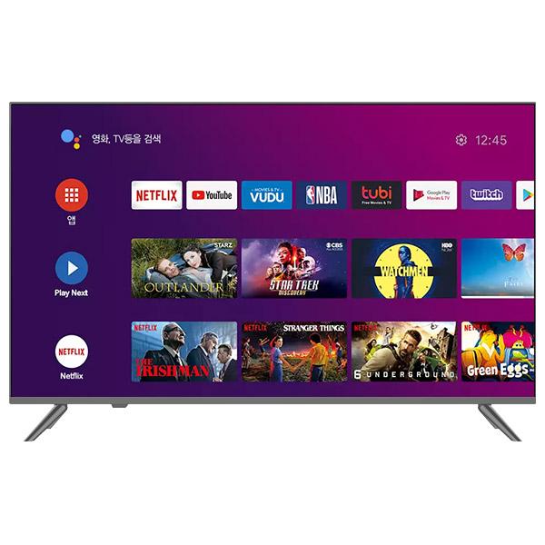 TNM 구글안드로이드 65인치 UHD LED 스마트 TV TNM-6500S 넷플릭스 유튜브 구글스토어 방문설치, 스텐다드(방문설치)