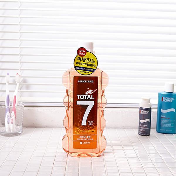 나비주 LG 페리오 가글 양치 욕실용품 시트러스 구강청결제, 1