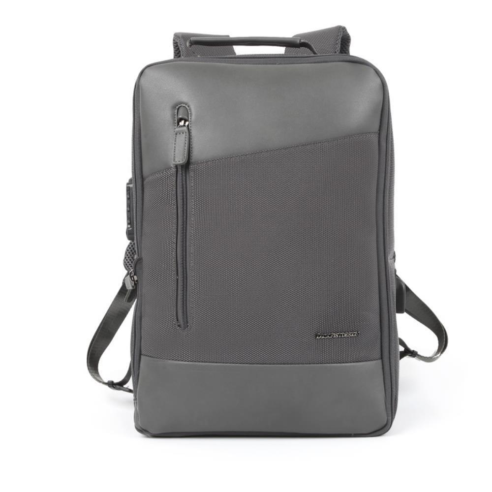 TSA잠금장치 LG그램 15인치노트북 남자가죽백팩 사회초년생 출퇴근 아이패드 캐주얼 기내용