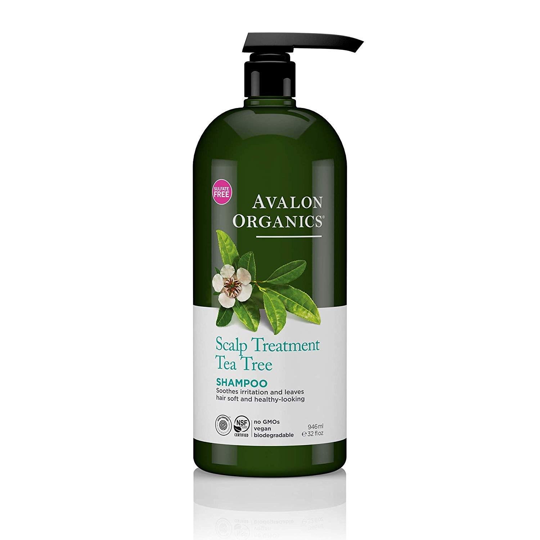 Avalon Organics 스칼프 트리트먼트 티트리 샴푸, 946ml, 1개
