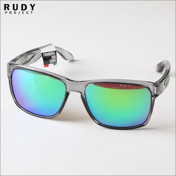 루디프로젝트 선글라스 SP314133 스핀호크 크리스탈 애쉬 프레임 그린 미러렌즈
