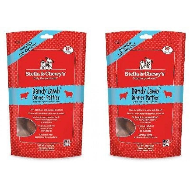 Stella & Chewy 's Dandy Lamb 디너 푸드 15 온스 백 (2 팩)