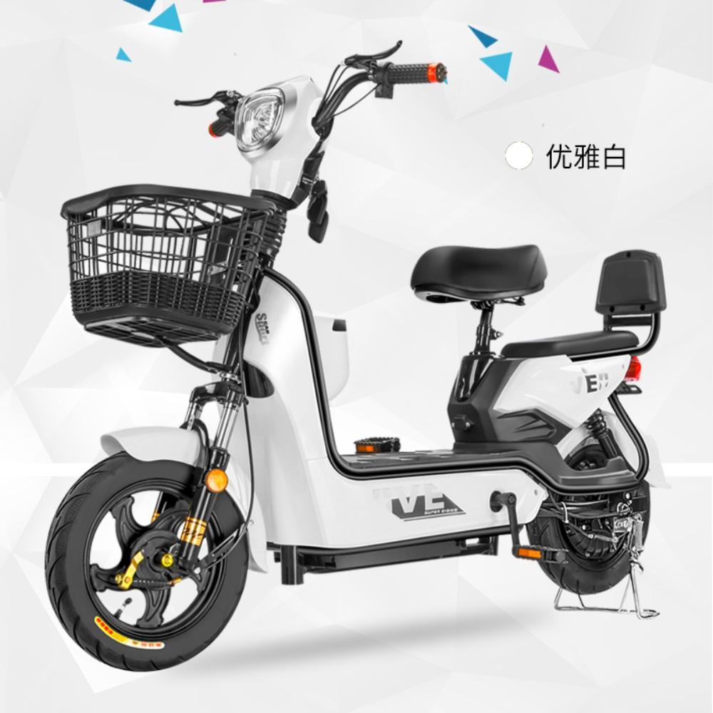 Sidino 2인용 48V 전기자전거 장보기 출퇴근 전동스쿠터, C 65KM 주행