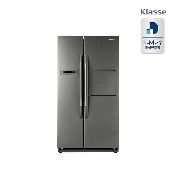 [신세계TV쇼핑][위니아대우] 클라쎄 718L 양문형 프리미엄 냉장고 EKR72DSRTS, 단품