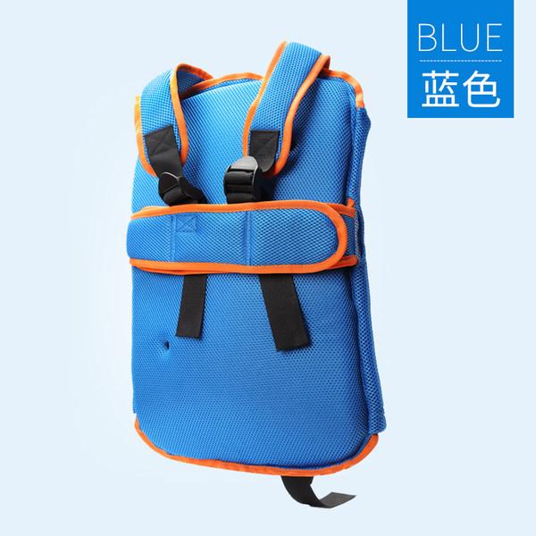 와이더 자세교정의자 골반틀어짐교정 좌식의자 아동용, 작은 파란색