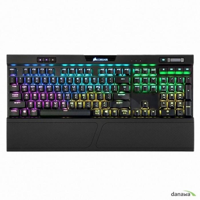 CORSAIR K70 RGB MK.2 기계식 키보드 (저소음 적축) 게이밍, 블랙