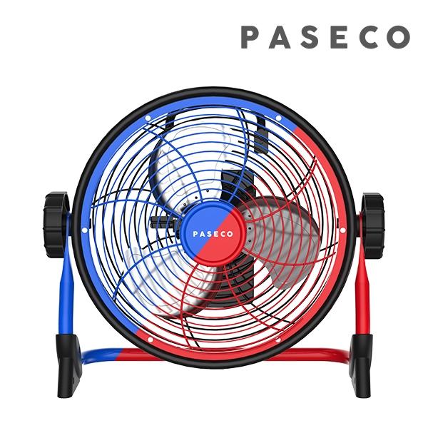 파세코 방수 무선 충전 메탈팬/서큘레이터, 레드 (POP 1537908411)