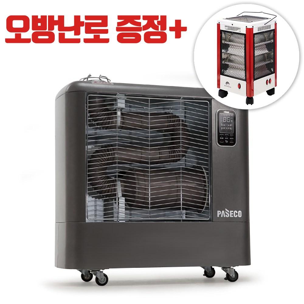 휴앤봇 돈풍기 6000kcal 튜브히터 석유난로 업소용 난방기, 단일상품
