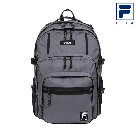 휠라 3포켓 백팩 FS3BPC5305X_GRY 노트북 책가방, 그레이