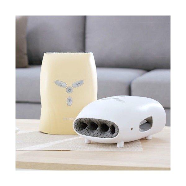 [마이템] 핸드케어 온열 공기압 손마사지기 GHM-002, 색상선택:화이트