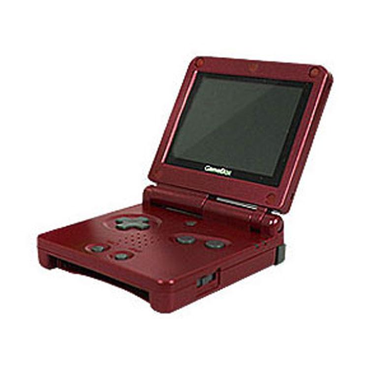 조이플래닛 GBA 게임보이어드밴스 휴대용게임기 게임박스, 01.딥레드