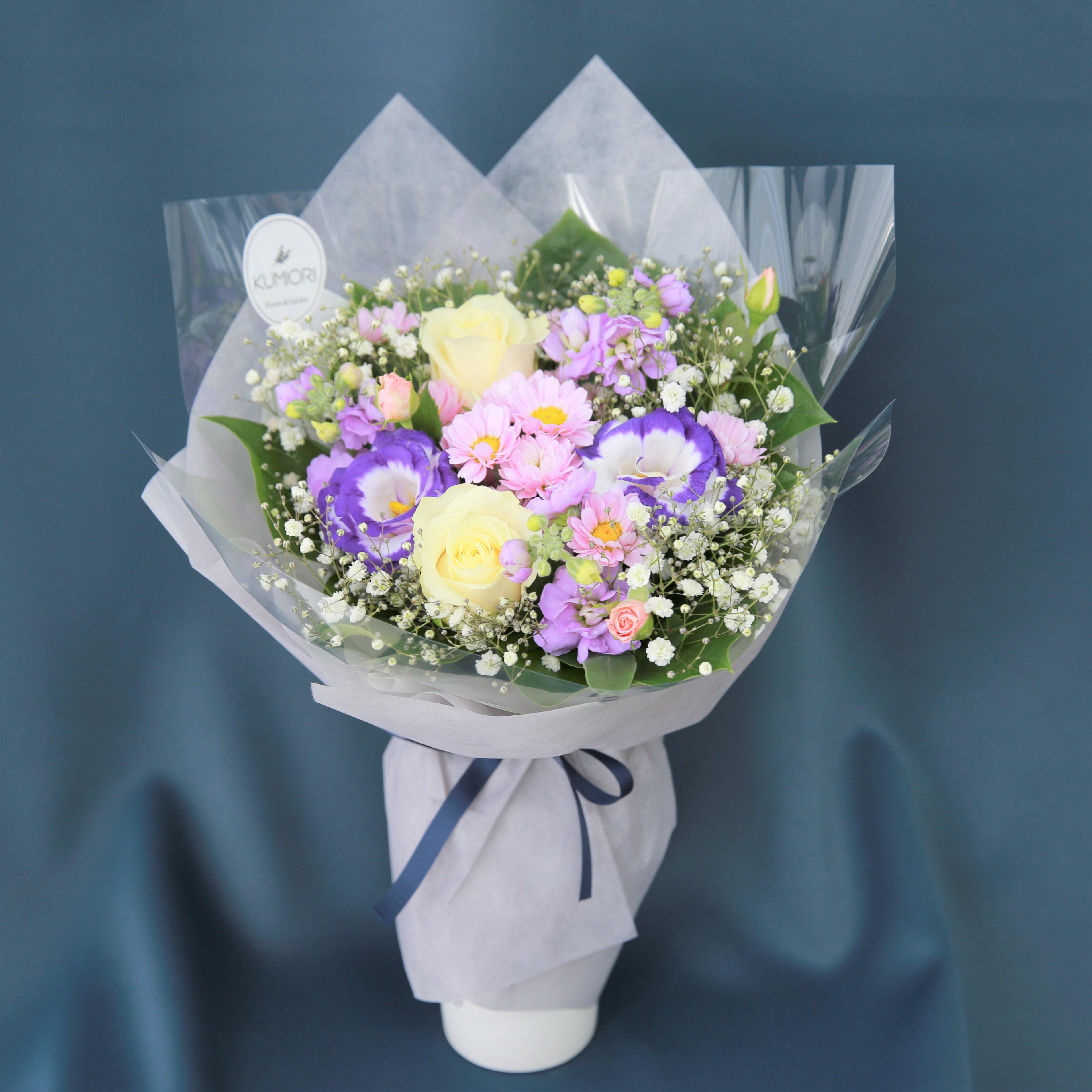 야곱의정원 이벤트 생화 졸업식 입학식 랜덤꽃다발, 퍼플제이콥