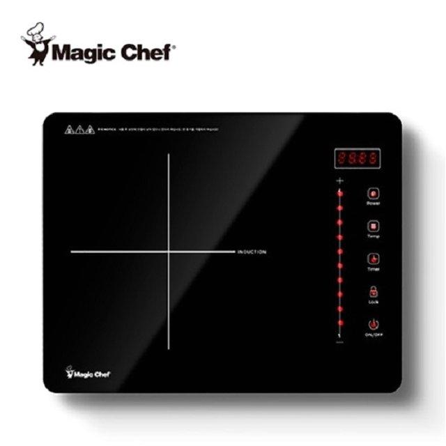 매직쉐프 MEIR-N30S 1구인덕전기션레인지 1구핫플레이트 크리스탈상판
