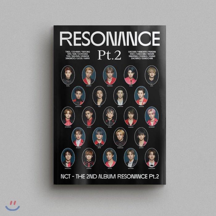 엔시티 (NCT) - The 2nd Album RESONANCE Pt.2 [Arrival ver.], 드림어스컴퍼니, CD