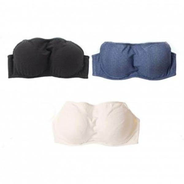 으랏차차 더블스트랩리스 튜브탑 밴드브라 여성웨어 수면잠옷