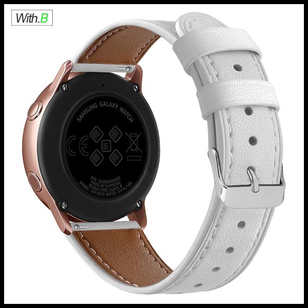 아나시스 갤럭시기어S2 갤럭시워치42mm용 가죽밴드 시계줄스트랩 나토밴드, 블랙-꽃무늬