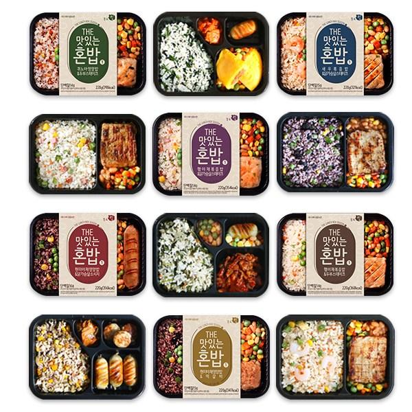 푸드킹 냉동도시락 THE맛있는 혼밥_시즌1 6종 12팩