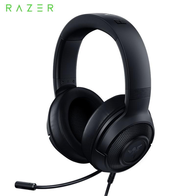 Razer Kraken X 7.1 유선 게임 헤드셋 블랙