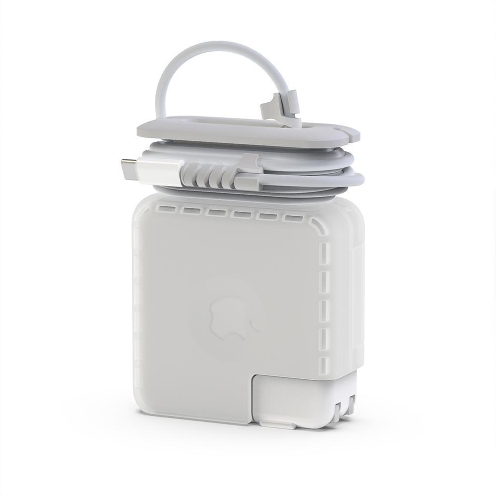 헤이맨 맥북 케이블 정리 어댑터 보호 충전기 케이스 M1 2020, 맥북프로 13인치