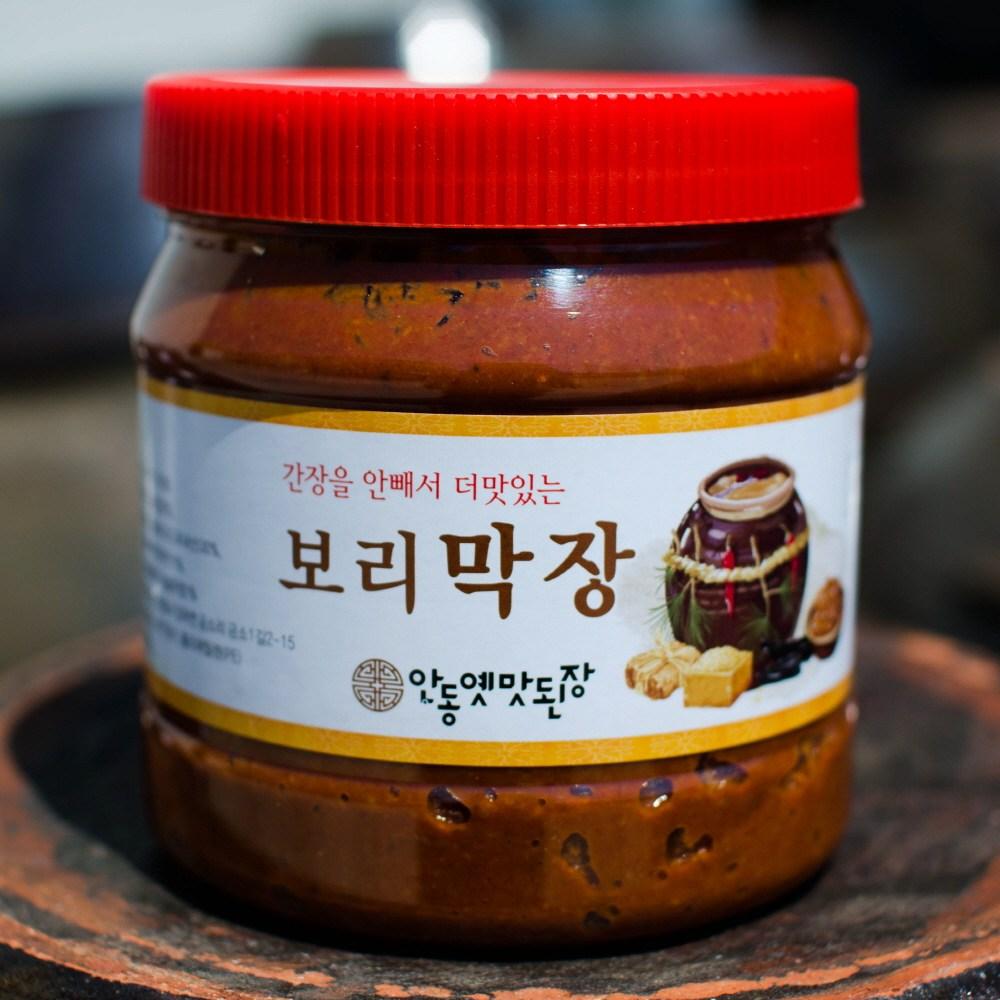 안동옛맛된장 국내산재료로만든 보리막장 1.2kg, 1200g, 1개