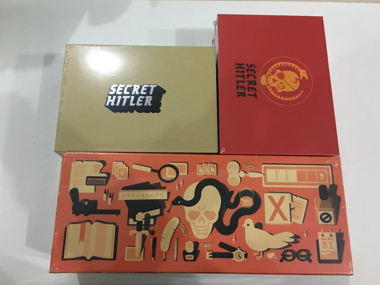 로얄팡 시크릿 히틀러 추리 마피아 게임 Secret Hitler, D