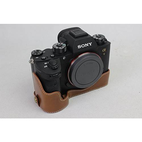 Sony A9 Camera Case BolinUS Handmade PU Leather Half Camera Ca/55729, 상세내용참조