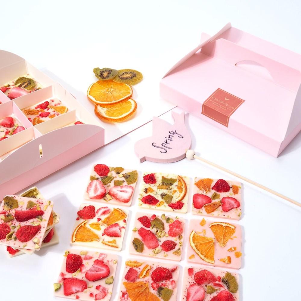 붐스토리 딸기 바크초콜릿만들기세트 초콜릿, 1세트, 딸기바크초콜릿만들기세트