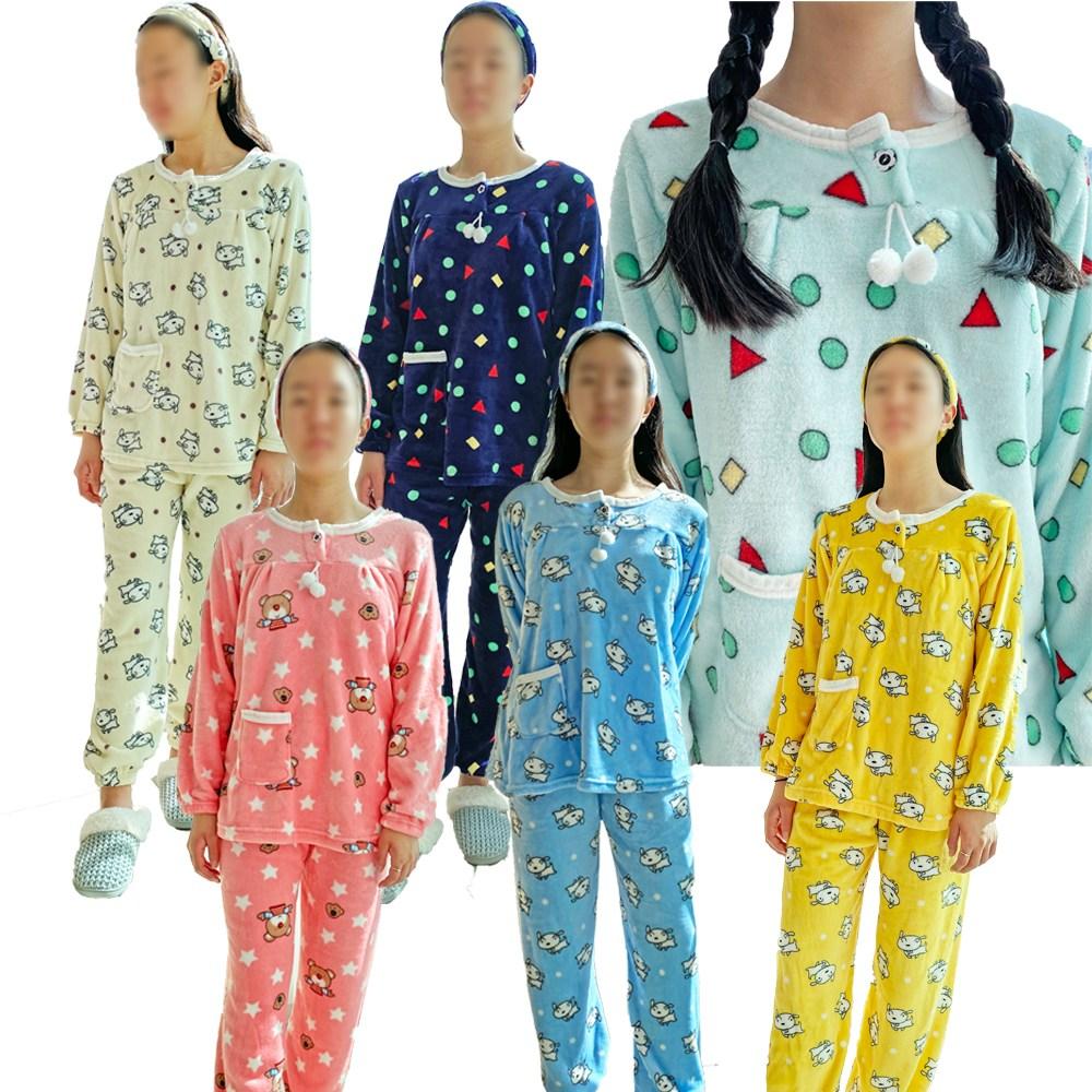 수면잠옷 뽀송뽀송한 도형수면잠옷 사은품 헤어밴드(도형그레이품절로 그레이 주문시 강아지스카이로 대체 출고드려요!!!)