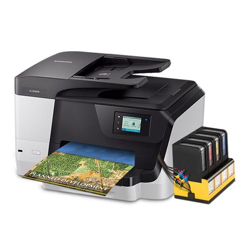 삼성전자 SL-J3560FW+무한잉크 팩스복합기, Black, SL-J3560FW+오피스