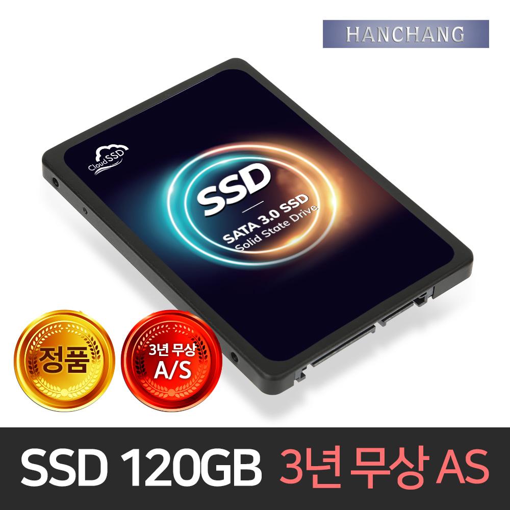 한창코퍼레이션 120GB SSD