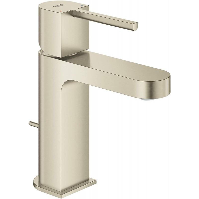 GROHE 33170EN3 Plus 싱글 핸들 욕실 수전 S- 크기 브러시 드 니켈 InfinityFinish, 1
