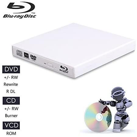 JuaneryExternal 블루레이 CD Drives,USB 2.0 블루레이 DVD CD DriveBD - romDVD 플레이어 for PC 컴퓨터, 상세 설명 참조0
