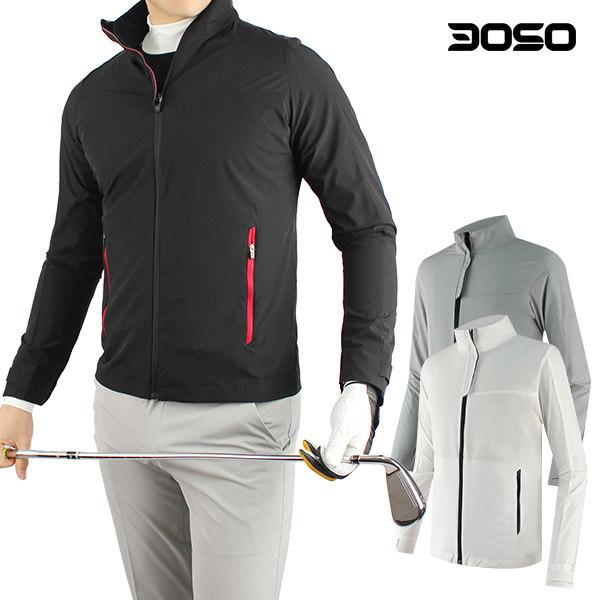 [마스터베어] 골프웨어 남성 봄여름 경량 골프바람막이, 색상:KSEI-아이보리 / 사이즈:110