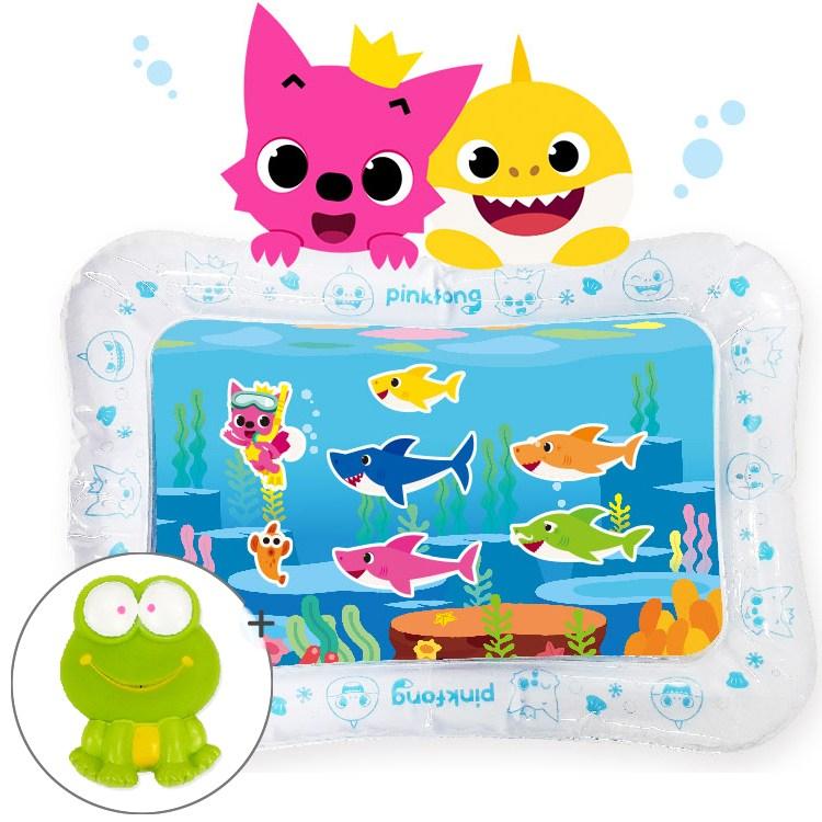 리틀히어로 워터매트 촉감놀이 외 목욕놀이 장난감, 01-2.핑크퐁 아기상어 워터매트 바다이야기+사은품