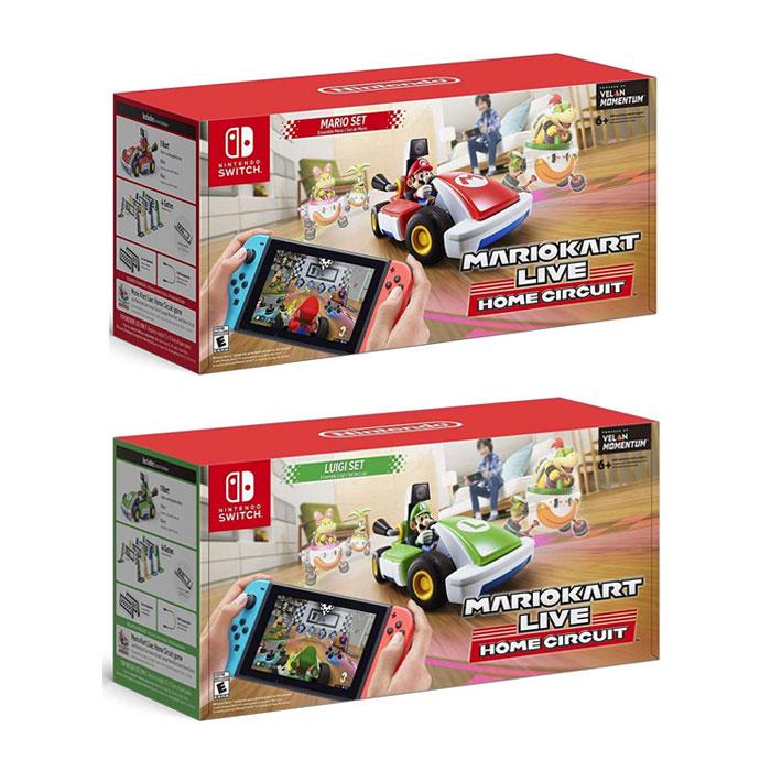 닌텐도 마리오 카트 홈 써킷 루이지 세트 2종 택1/ Nintendo Switch Home Circuit Mario Set or Luigi Set, 2. Luigi Set