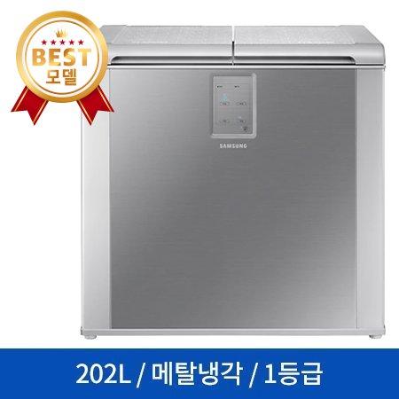 삼성전자 뚜껑형 김치냉장고 RP20N3111S9 (202L), 단일상품