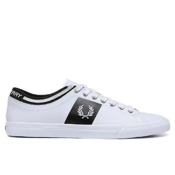 [현대백화점]프레드페리 신발 남여공용 스니커즈 SFPU1937140-100 Underspin Tipped Cuff Leather 언더스핀
